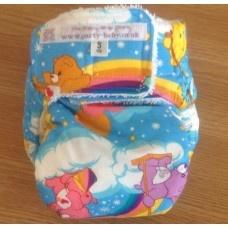 cloth nappy | small cloth nappy | care bear nappy | washable nappies