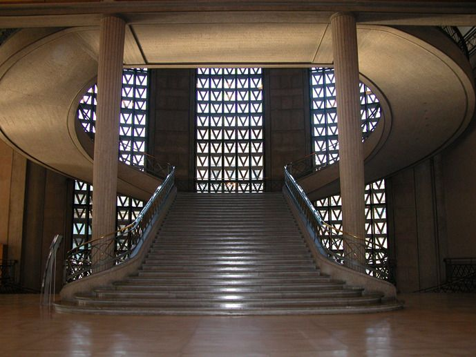 Palais d'Iena et Prada, Auguste Perret