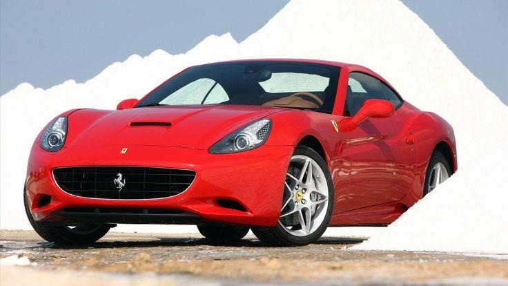 Ferrari California red #9