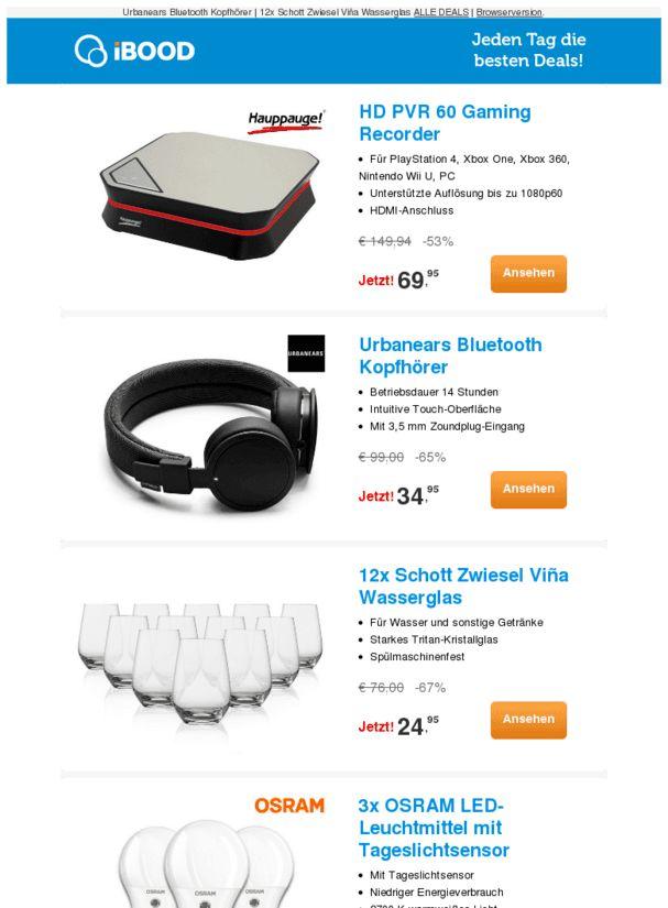 HD PVR 60 Gaming Recorder-53% |12x Schott Zwiesel Viña Wasserglas-67% |3x OSRAM LED-Leuchtmittel mit Tageslichtsensor-83%  ❙  #ComputerElektronik  - https://deal-held.de/hd-pvr-60-gaming-recorder-53-12x-schott-zwiesel-vina-wasserglas-67-3x-osram-led-leuchtmittel-mit-tageslichtsensor-83/