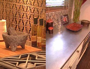 Nate Berkus S Time Warp Makeovers Oprah Com Love The Zinc Countertops