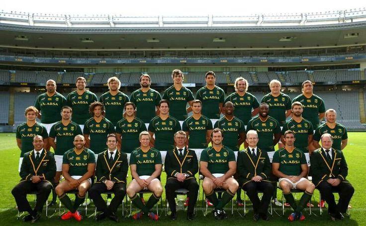 The Springbok team