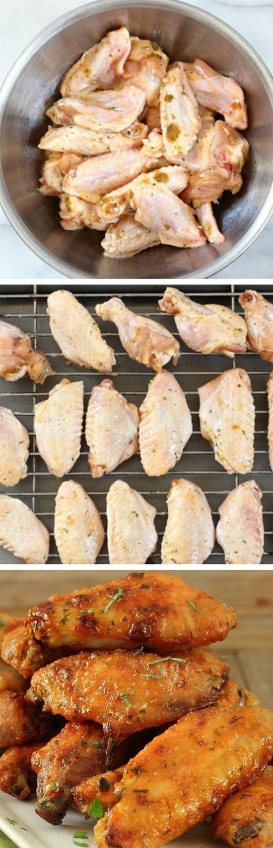 Incredibly Delicious Baked Chicken Wings - Love with recipe