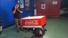 Watch The Colbert Report: Hollywood Heroes: Matt Damon online | Free | Hulu (Coca Cola Endorsement)