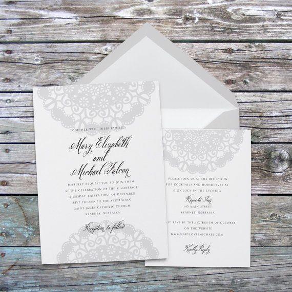 Vintage Wedding Invitation, Lace wedding invitations, elegant wedding invitations, wedding invitation template, printable wedding invites