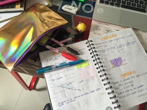 ideas de como tomar apuntes en tus cuadernos