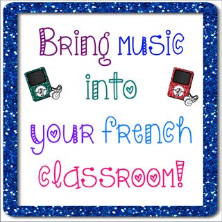This blogpost has great ideas for how to use music in your French class and also a great list of songs and singers to check out!