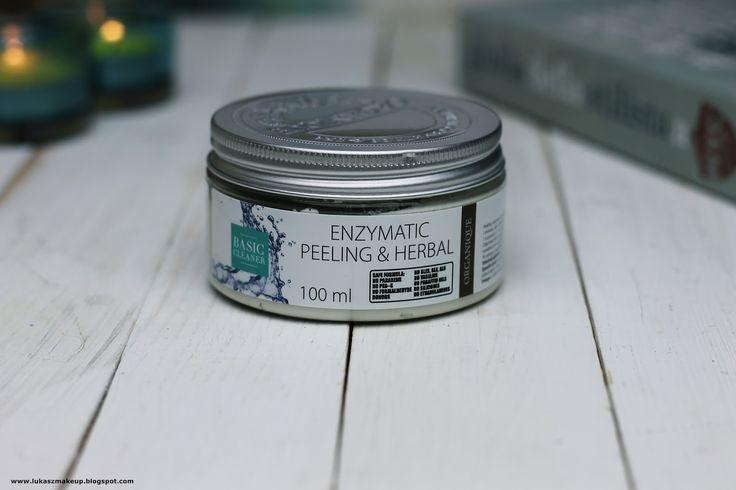 Kosmetyki, uroda, moda: Organique Enzimatic Peeling & Herbal