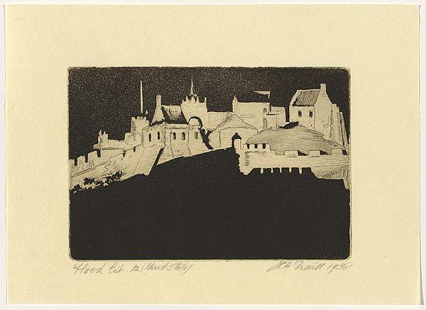 Jessie TRAILL, Floodlit [Edinburgh Castle]