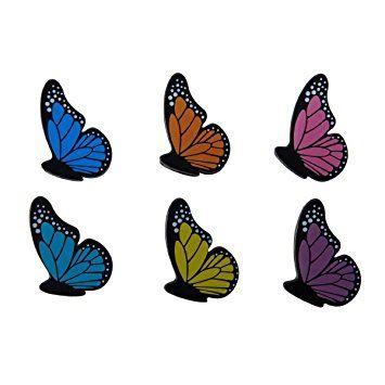Amazon.com: Kizmos Small Butterfly Bag Clips (Set of 6): Food ...