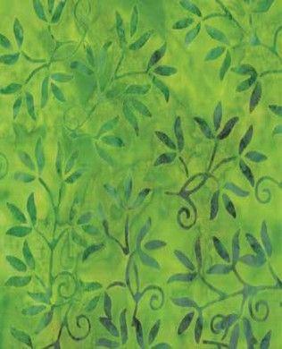 4327 14 Grass   Moda Fabric   Moda In House Design   Color Crush Batiks