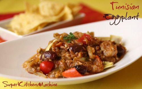 Tunisian Eggplant Thermomix Recipe