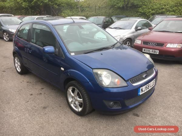 Car For Sale Ford Fiesta Zetec Blue 1 4 Tdci 2008 58 Spares Or Repair Injector Issues 3d