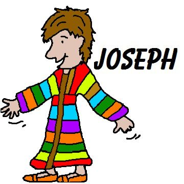 Josephs Coat Of Many Colors Clipart