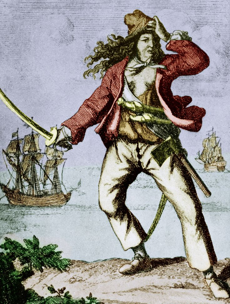 5 Notorious female pirates