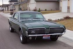 hcgalvin 1967 Mercury Cougar