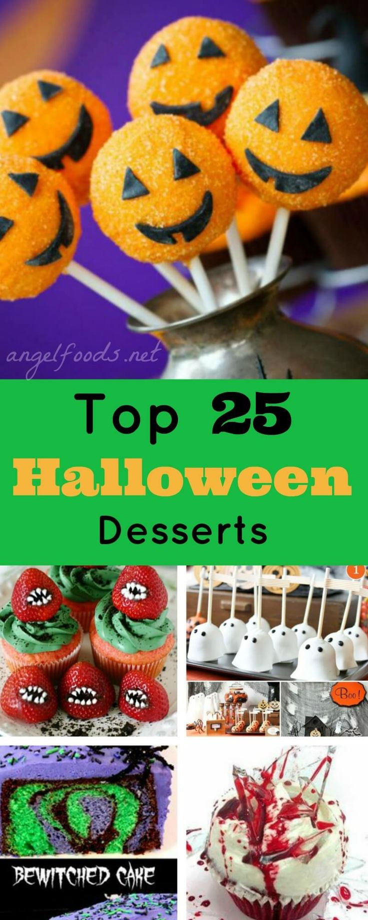 top 25 halloween desserts - Gourmet Halloween Recipes