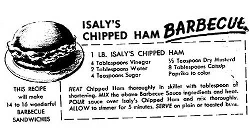 Food I grew up with:  Chipped Ham BBQ evokes memories, more recipes - Pittsburgh Post-Gazette