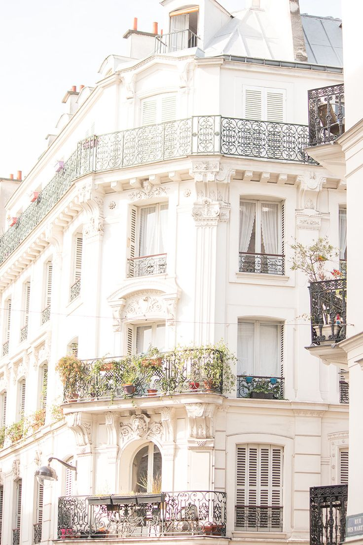 #paris #parisan #parisapartment #montmartre #french #rebeccaplotnick #parisphotography #photography #parisprint #architecture Paris Photography, Rue de Martyrs, Paris Montmartre Balcony. Apartment, Haussmann architecture, neutral hues, paris print - paris wall art by rebeccaplotnick on Etsy