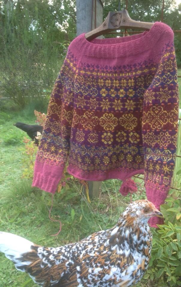 My favorite sweater- Next Year in Lerwick, design Tori Seierstad, pattern to be found on Ravelry. Knitted in Rauma.