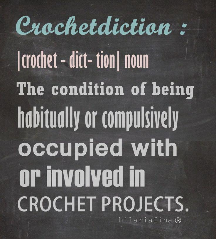 Are you a crochet addict? ❥ 4U // hf