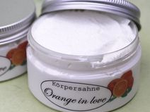 "Körpersahne ""Orange in love"""