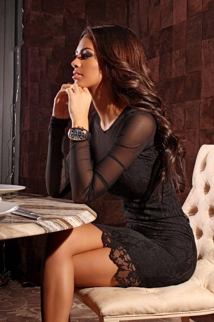 Sexy Black Dress - Baronesa Fashion House