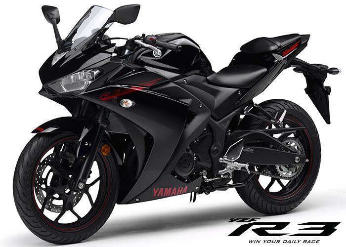 yzf-r3 midnight black if I don't get a cafe