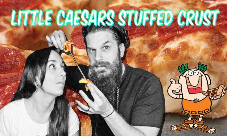 Little Caesars Stuffed Crust Deep Deep Dish Pizza Review!