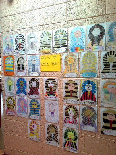 Classroom Display Ideas Ks2 ~ Best images about egyptian art ideas on pinterest