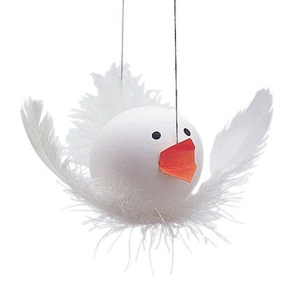 Easter Eggs: Easter Dove