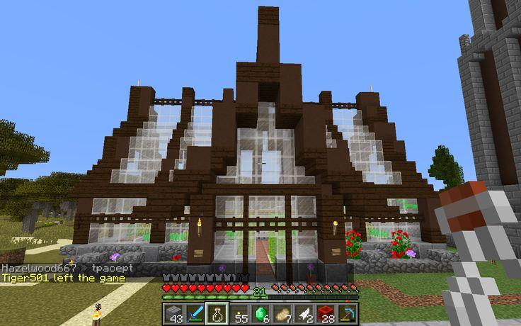 Greenhouse Based Off Of Grian U0026 39 S Design