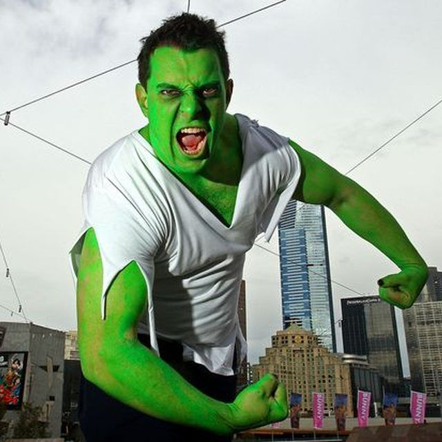 How to Make an Incredible Hulk Costume