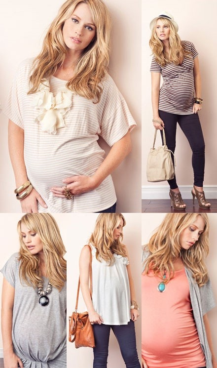 Forever 21 maternity wear.  Nothing is priced over $20. Good to keep in mind.