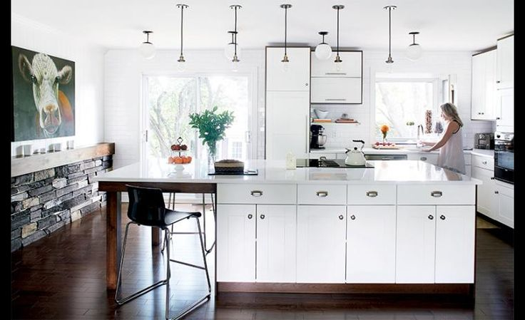 La designer souhaitait un look sur mesure dans sa cuisine for Creer sa cuisine ikea