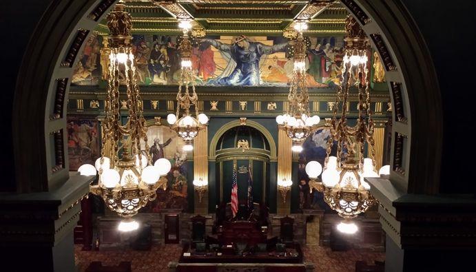 Pic of the Week: Pennsylvania Senate Chamber