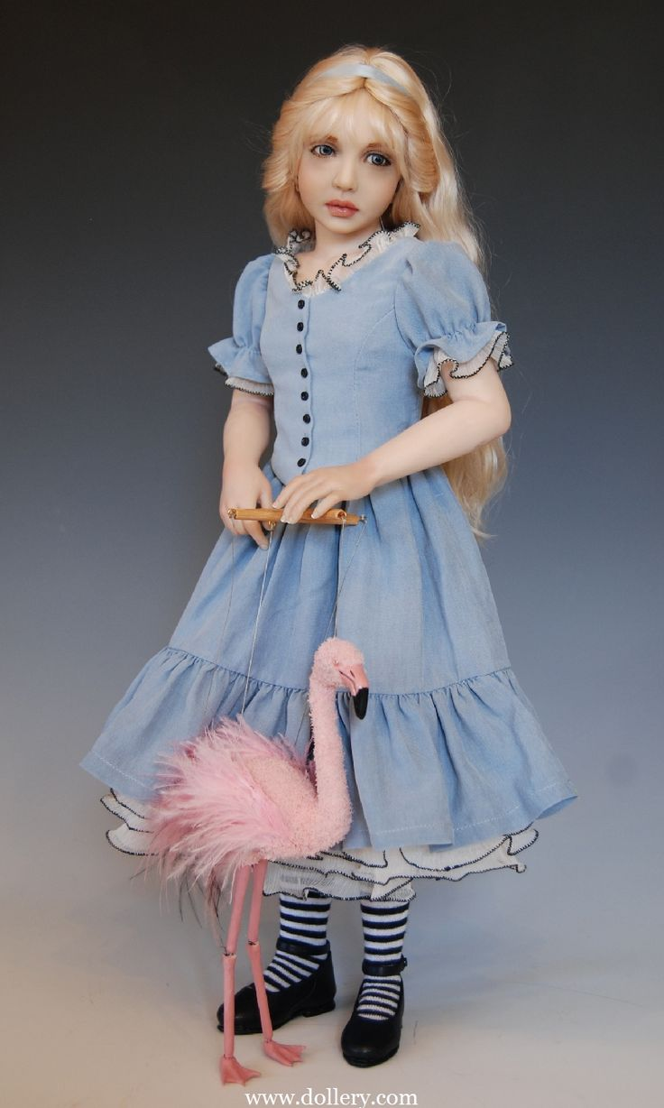 Alice in Wonderland:  #Alice ~ Diane Keeler One of a Kind Dolls At the Dollery.