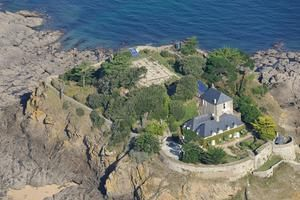 L'île du Guesclin, au large de Saint-Coulomb (Ille-et-Vilaine).
