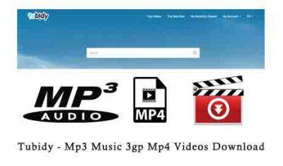 Tubidy - Mp3 Music 3gp Mp4 Videos Download
