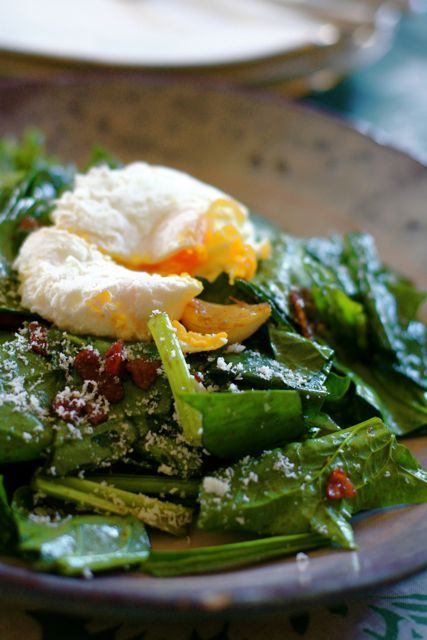ほうれん草のホットサラダ ベーコン×ビネガーソース | 美肌レシピ