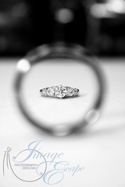 Wedding Rings photography idea :)