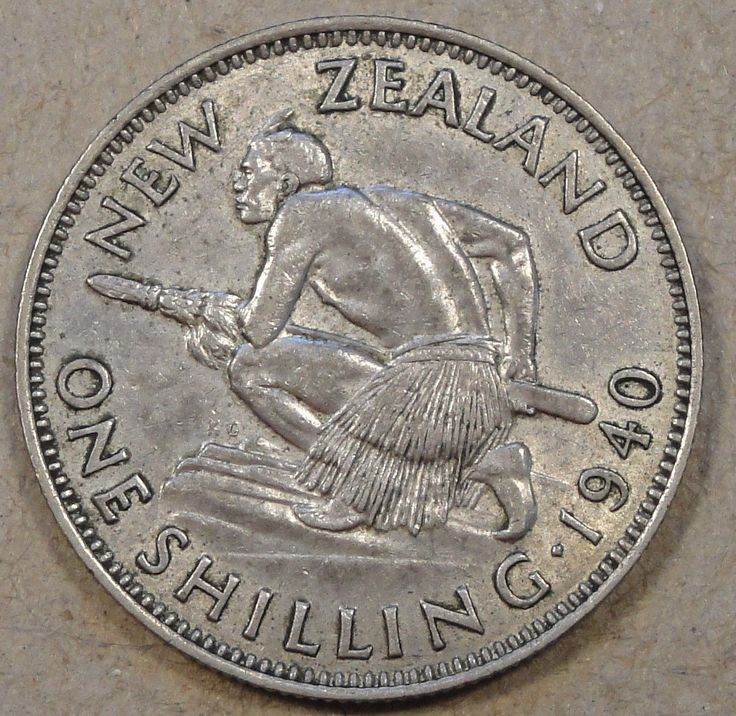New Zealand 1940 Shilling XF