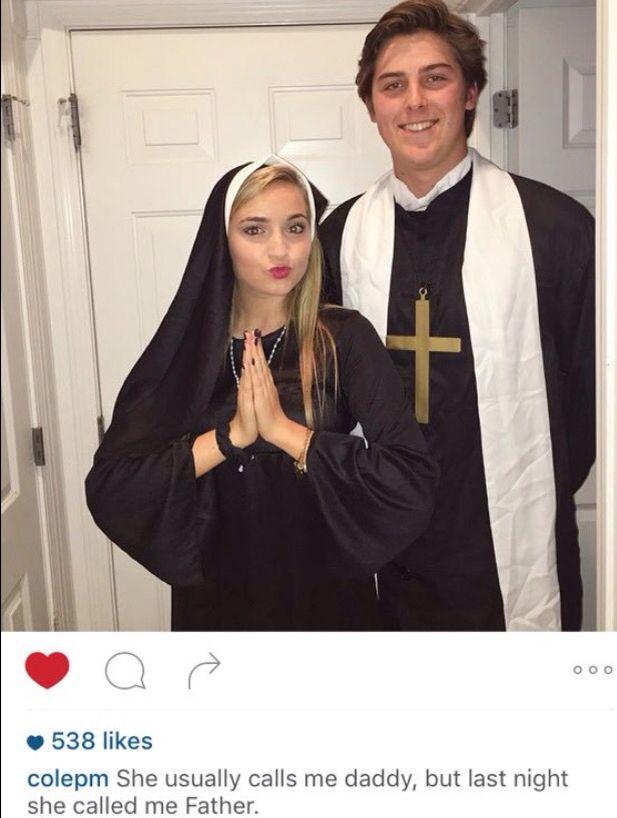 naughty nuns costume                                                                                                                                                                                 Mais