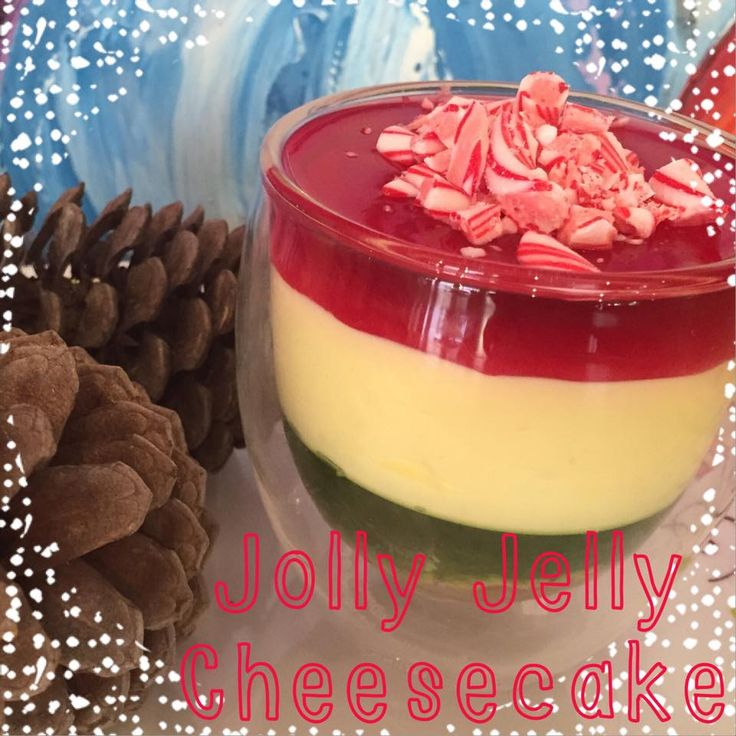 Jolly Jelly Christmas Cheesecake! Don't forget to check out the recipe on www.thecolourfulhousewife.com.au