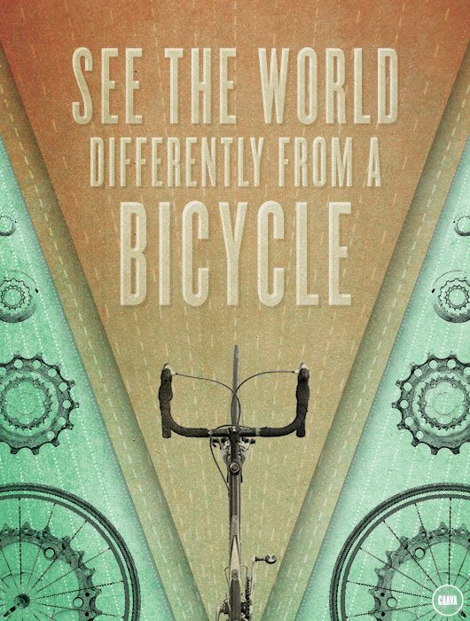 : Bicycles, Bike, Inspiration, Bike Riding, Cycling, Wheels, Graphics Design, So True, The World