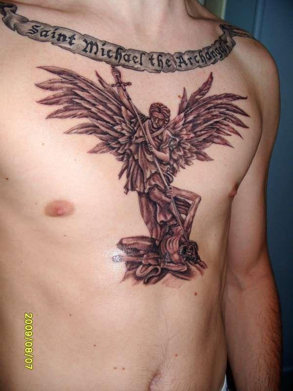 Saint Michael the Archangel tattoo | Ink | Pinterest ...