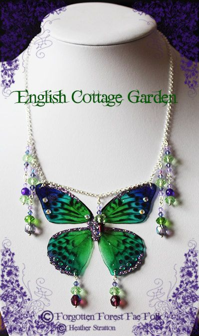 English Cottage Garden by ForgottenForestFae on Etsy, £25.00