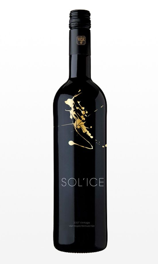 Wine Label http://vur.me/tbw/Secrets-of-Wine. Very elegant & clean. I like the black & gold combo.
