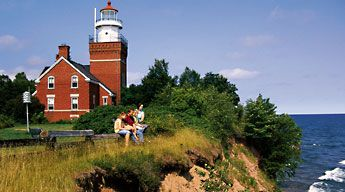 Big Bay Point Lighthouse (Bed & Breakfast) Lighthouses Open to the Public - Pure Michigan Travel