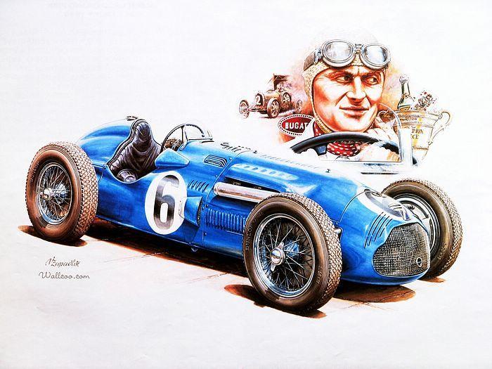 Amazoncom: vintage race car posters: Collectibles & Fine Art